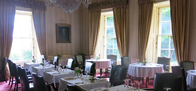 Newport House dining room